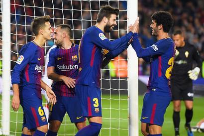 King's Cup: Barcelona hammer Murcia, tiny Formentera stun Bilbao