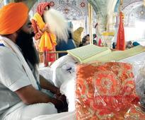 Sikh pilgrims arrive to observe Jor Mela