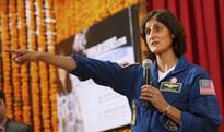 Sunita asks kids to take more interest in space science