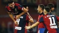 Genoa advance into next round of Coppa Italia