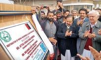Sherpao asks centre to start work on Munda dam