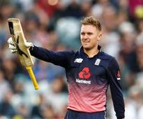 Roy hits 180, hands 5-wicket win to England against Australia in first ODI