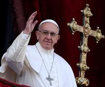 Pope signals elderly married men could become priests