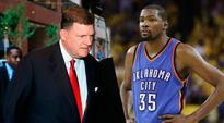 Owner Clay Bennett And The Thunder's Recruiting Team Stayed At A Holiday Inn While Pitching Kevin Durant