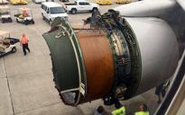 'There was a loud bang': United Airlines passengers describe mid-air drama as engine cover comes off