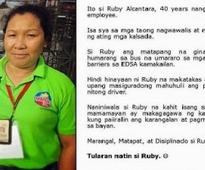 MMDA worker lauded for bravely stopping the wayward Joanna Jesh bus