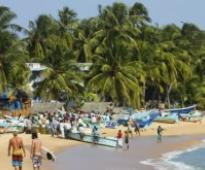 Sri Lanka tourist arrivals increase