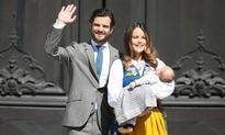 Prince Carl Philip and Princess Sofia take Prince Alexander down memory lane in Bastad