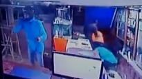 Watch: Helmet wearing man walks into Jodhpur showroom, starts shooting