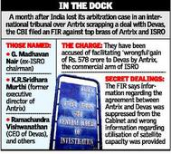 Ex-chief of ISRO named in Antrix charge sheet