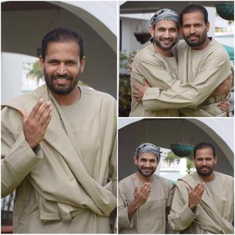 PICS: How the Pathan brothers celebrated Eid