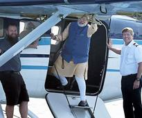 Gujarat elections: Modi a good passenger, says seaplane pilot after landing