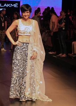 Spotted: Mandira, Sangeeta, Amrita at fashion week