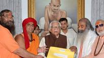 Kairana 'migration': Saints submit exodus report to Governor Ram Naik