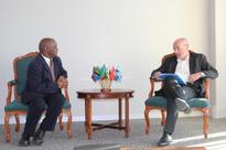 The French Head of Regional Economic Service for Southern Africa visits SADC Secretariat