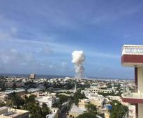 Al Shabaab launches suicide attack on peacekeeping base in Somalian capital