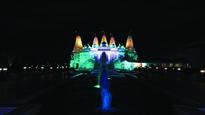 Krishnamoorthi, Lt. Gov. Sanguinetti, Attend BAPS Diwali In Barlett