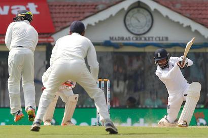 Stats: Rashid posts highest Test score vs India