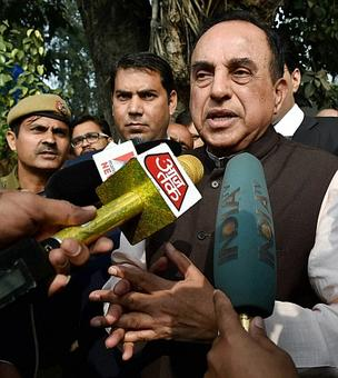 Day after PM's snub, Swamy invokes Lord Krishna