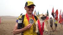 Australian ultramarathon runner reunited with stray dog after 125-kilometre China trek