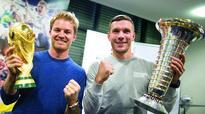 Selfie of champions