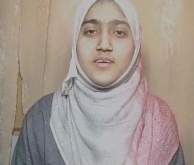 The Kashmiri schoolgirl who defied Burhan Wani