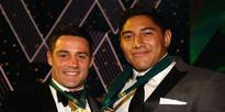 NRL: Jason Taumalolo wins Dally M Award with Cooper Cronk