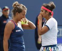 Wuhan Open: Sania Mirza-Barbora Strycova advance to third round with hard-fought win