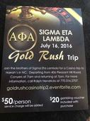The Loganville-Conyers Alphas invite you to the #GoldRushPart2