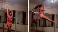 Hotness Alert: Jacqueline Fernandez 'burns midnight oil' with pole dancing