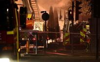 #39;Significant blaze#39; breaks out in popular London market