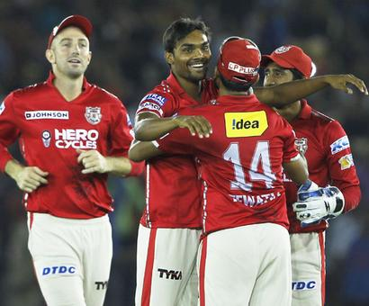 IPL PIX: Kings XI Punjab keep hopes alive after 14-run win over KKR