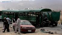 At least 37 killed in twin attacks on Afghan police cadets