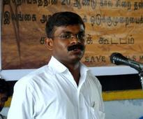 Cartoonist arrested in Tamil Nadu for 'defamatory' caricature on CM Palaniswami