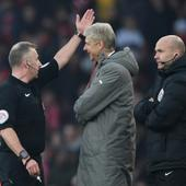 Arsenal boss Arsene Wenger gets violent with fourth official, given four-match touchline ban