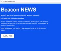 Beacon Bulletins: The WhatsApp-based startup trying to become the Netflix of news