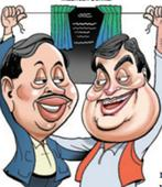 Nitin Gadkari, Narayan Rane share stage, raise eyebrows