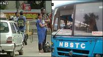 The nation-wide strike called by central trade unions on Friday hit normal life in several states with left-ruled Kerala and West Bengal being hardest hit. In the CPI(M) ruled southern state the public transport vehicles stayed off the roads and shops and