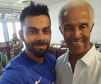 Virat Kohli savours meeting with Gary Sobers and other West Indian legends