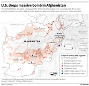 US drops 'MOAB' in Afghanistan: Fate of 21 Indians who fled to Nangarhar to join ISIS unknown