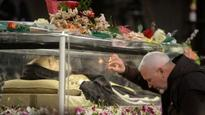 Exhumed bodies of Saint's Padre Pio and Leopold Mandic put on display in the Vatican