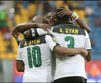 Afcon 2017: One Change in Ghana's Team to Face Mali
