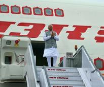 PM Modi arrives in Delhi following 3-nation tour