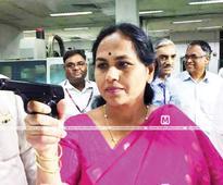 BJP MP Shobha Karandlaje gets a US-made pistol due to death threat