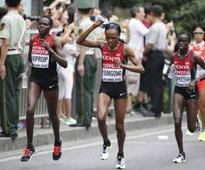 CATCH US, IF YOU CAN: For seven successive years, Kenyans run show at top marathon races