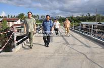 New permanent bridge at Sikuati village completed