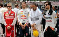FIA and F1 honour victims of Paris attacks at Brazilian GP