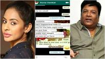 Sri Leaks: Sri Reddy now targets Kona Venkat after accusing Suresh Babu's son Abhiram and others of sexual harassment