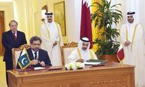 Qatargas 2 signs 15-year LNG deal with Pakista...   Emir H H Sheikh Tamim bin Hamad Al Thani, Deputy Emir H H Sheikh A...