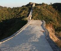 Section of the Great Wall has been cemented, officials confirms